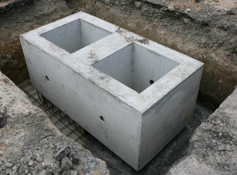 Fundatie prefabricata dubla