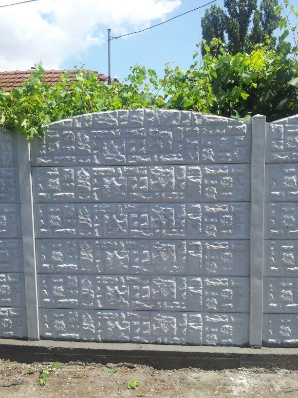 gard de beton 2m